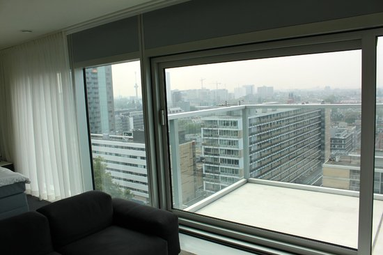 Urban Residences Rotterdam : View from the room.
