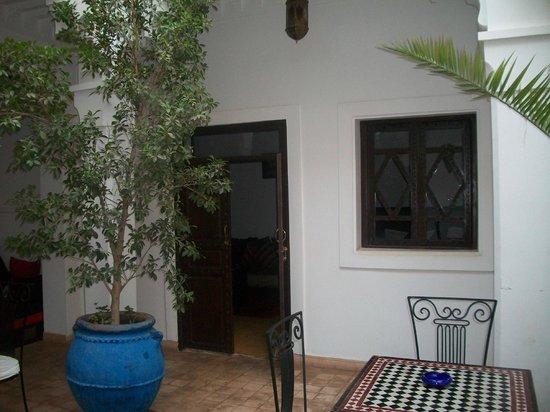 Riad Shaloma : binnentuin