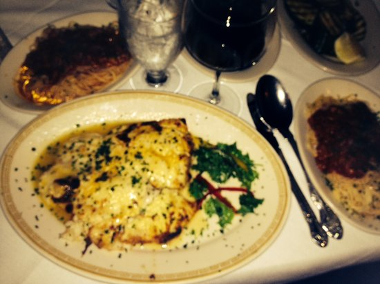 Alfredo's Italian Restaurant: All I said was, this is my first time here...surprise me!