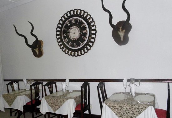 The Old Coach House: Dining area for the evening