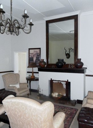 The Old Coach House: Lounge area