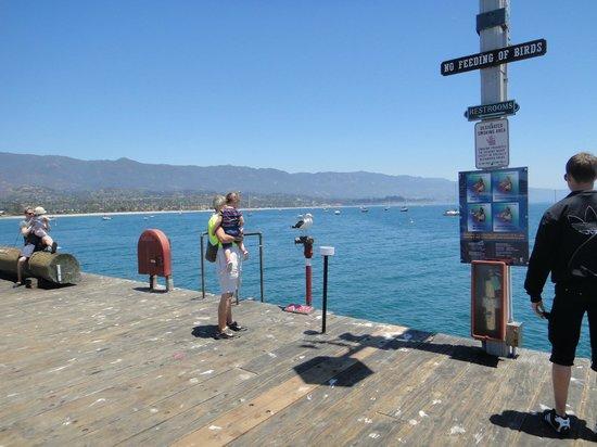 Santa Barbara Waterfront: Vista do outro lado.