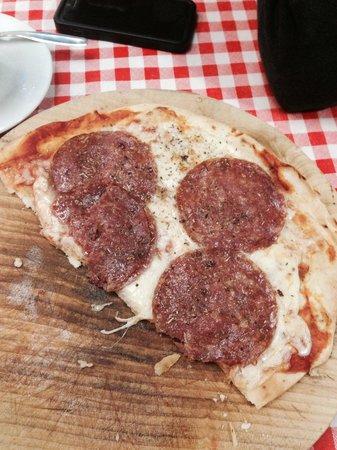 Bellagio Point : Half eaten pizza