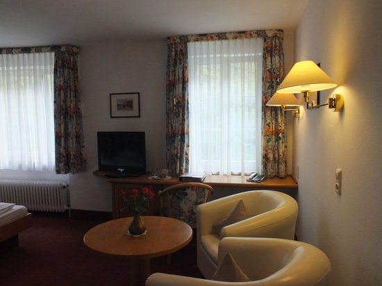 Hotel zum weyßen Rößle: Gemütliche Sitzecke