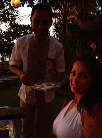 Anantara Seminyak Bali Resort: Another lovely restaurant/pool staff - Made - such a friendly guy