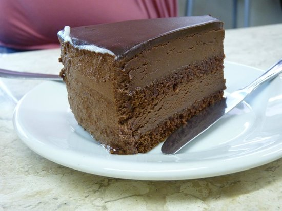 Biscuit: chocolate cake