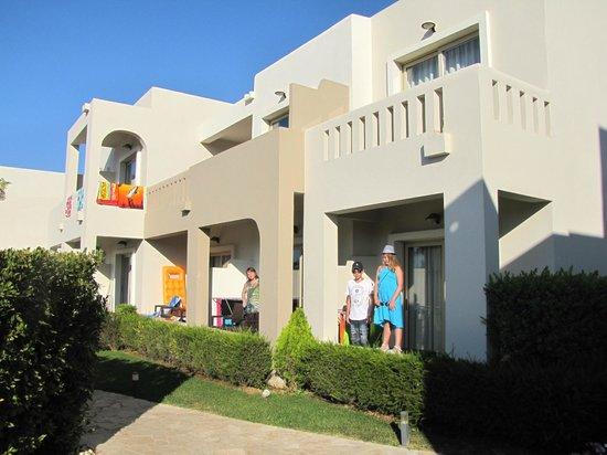 Amalthia Beach Resort : Unsere Balkons