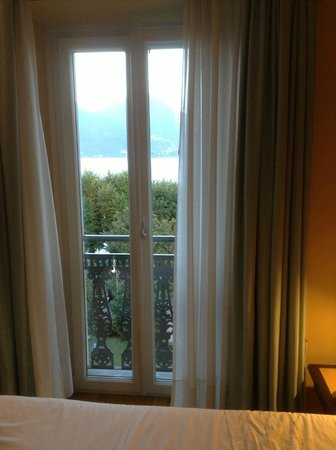 Hotel Ancora: View from room, great windows