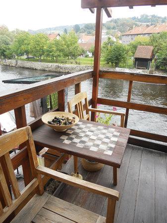Hostel Skippy : chess tablle