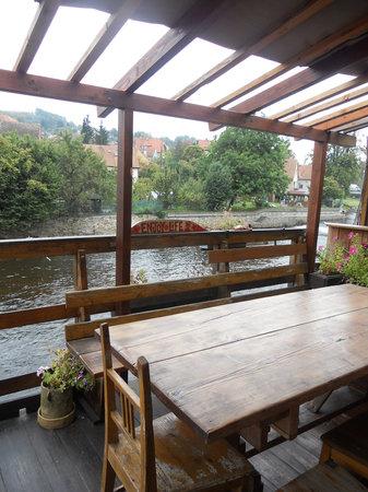 Hostel Skippy : balcony/deck