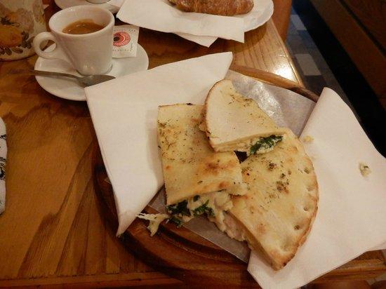 Pan e Vin Bar: Prima colazione