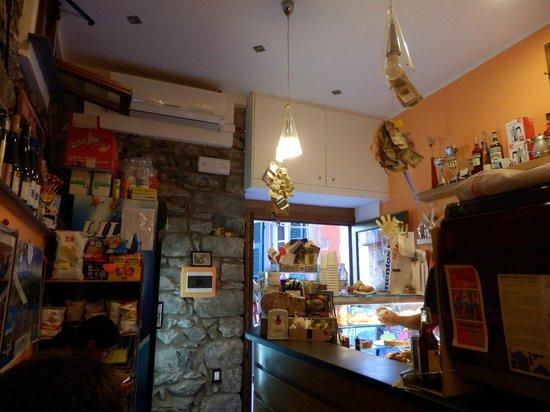 Pan e Vin Bar: Interiore