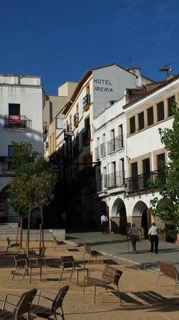 Hotel Iberia : L'esterno