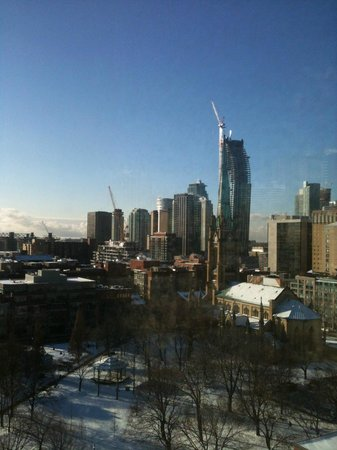 Holiday Inn Express Toronto Downtown: view from the room