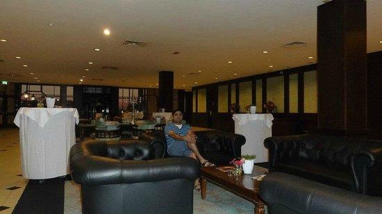 Van der Valk Hotel Schiphol: At the business lobby
