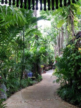 Sawasdee Village: walking around tropical paradise: the hotel