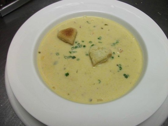 Stone Soup Cafe: Lobster bisque