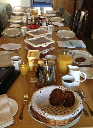 The Blacksmith's House : Amazing breakfast buffet
