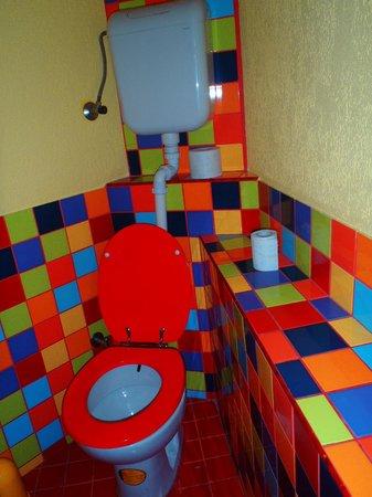 Balkan Han : Cute bathroom!