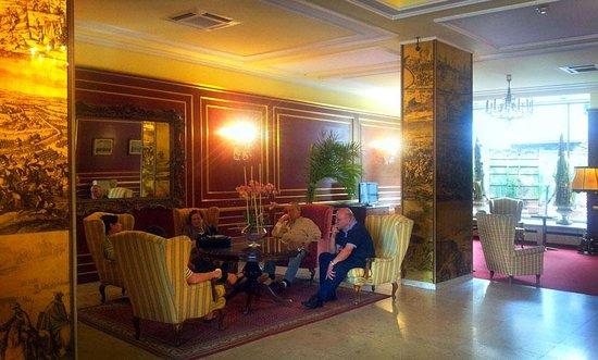 Hotel Prinz Eugen : Lobby in the Prinz Eugene Hotel