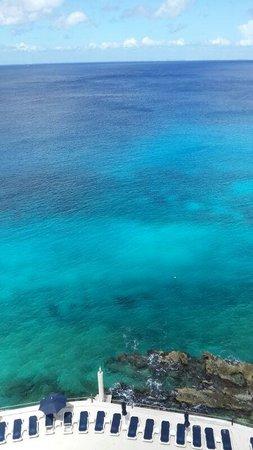 Coral Princess Golf & Dive Resort: Increíble vista desde habitación