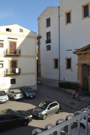 Palazzo Brunaccini: View from balcony