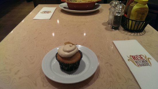 Rise Kitchen & Bakery: A excellent cupcake to top off a good meal