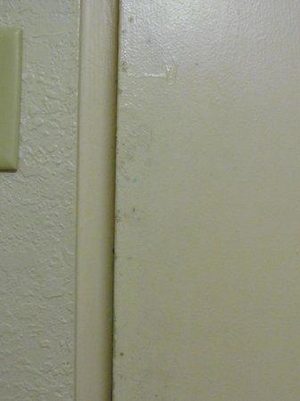 Lexington Hotel - Miami Beach: puerta baño, hongos y descascarada