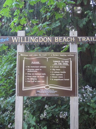 Willingdon Beach Trail