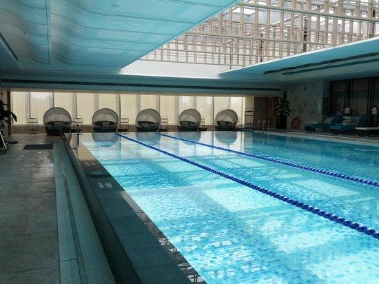 Swimming pool picture of jing an shangri la west shanghai shanghai tripadvisor for China fleet club swimming pool prices
