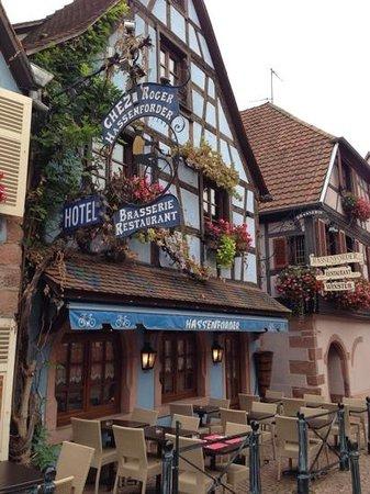 Hotel Restaurant Hassenforder: Aussenansicht