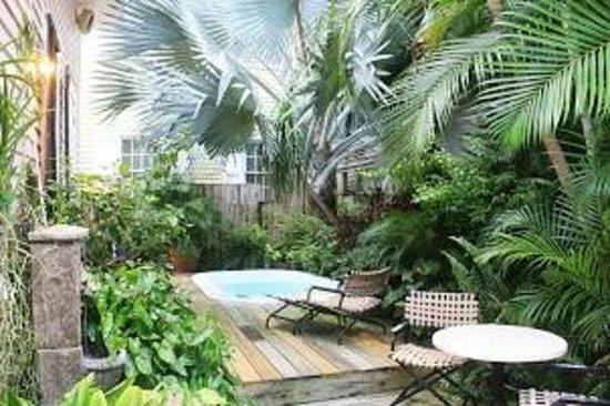 Key West Bed and Breakfast: Garden