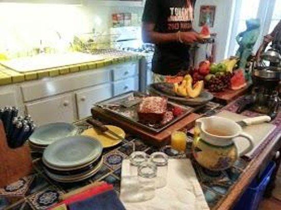 Key West Bed and Breakfast: Breakfast