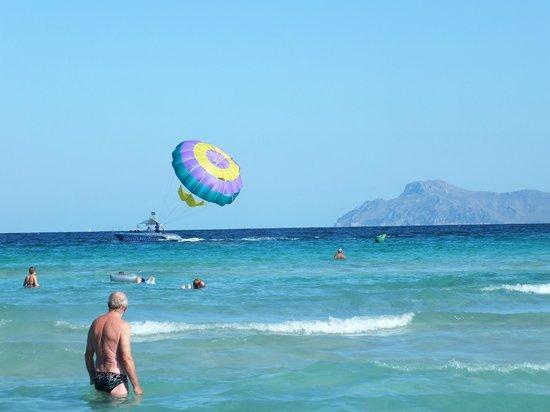 Hotel JS Alcudi-Mar: Praia de Muro Bahia de Alcudia