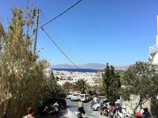 Semeli Hotel: panorama