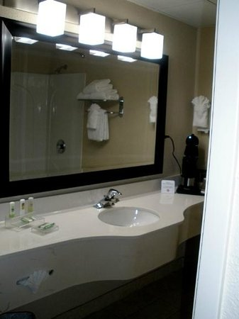 Country Inn & Suites by Radisson, Asheville Downtown Tunnel Road (Biltmore Estate), NC: Nicely updated bathrooms, very clean