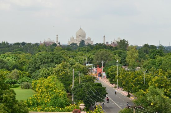 Hotel Taj Plaza: View from the roof top