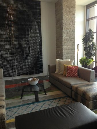 The Alexander: sitting area