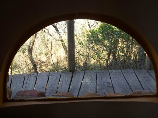 Isibindi Zulu Lodge: Carefully placed windows placed low for privacy and enhancing views