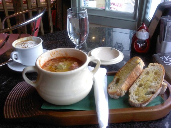 Gastronomia Campo Vecchio: One of Fabio's delicious winter soups