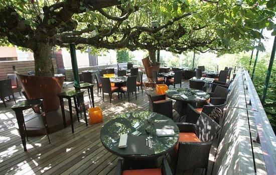 Restaurant Le Clos des Sens : terrace ks 123