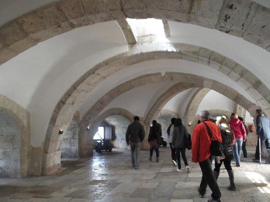 เบเลม: Interior da Torre de Belem.
