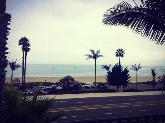 Hyatt Santa Barbara: Ocean View from adjacent building