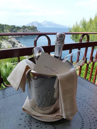 Hotel Delfino : Bulles offertes pour notre anniversaire de mariage