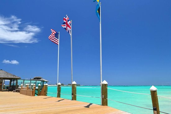 Sandals Royal Bahamian Spa Resort & Offshore Island: On the Pier