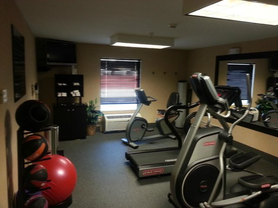 Hampton Inn Canon City: Fitness Area
