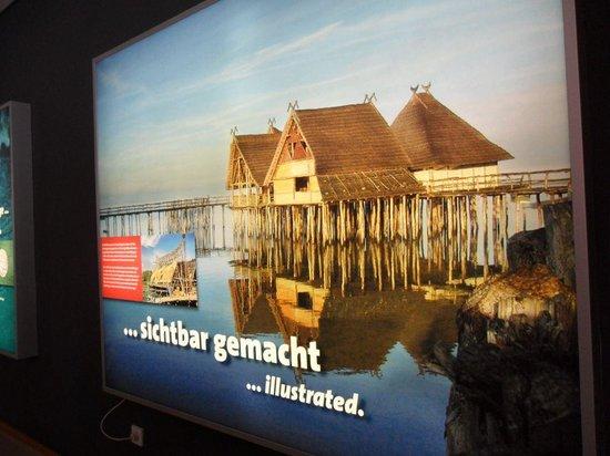 Archaeological Open Air Pfahlbaumuseum: Tourismusplakat