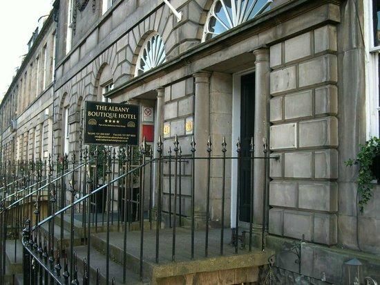 Ballantrae Albany Hotel: Eingang