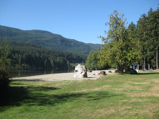 Westwood Lake Park: This is the second swimming area.
