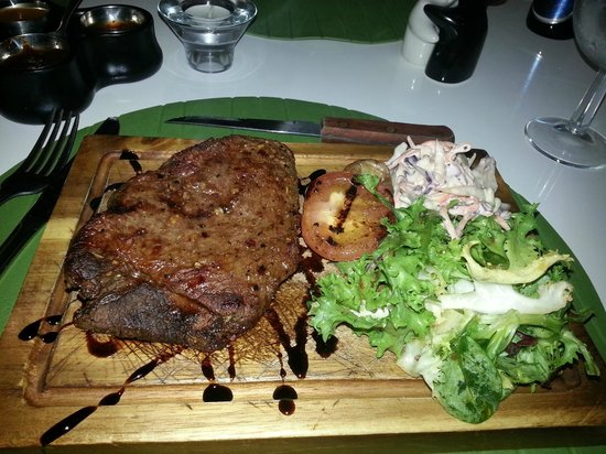 Moshan Island Grill: Rum steak